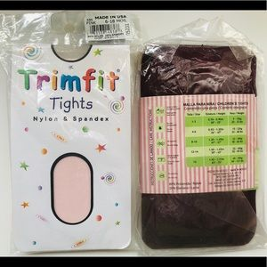 Other - NWT 2 baby girl tights